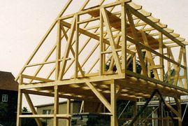 Fachwerkhaus - Dachstuhl